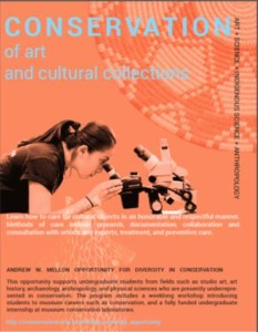Conservation of Art Flier